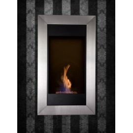 Bio blaze square flame vertical