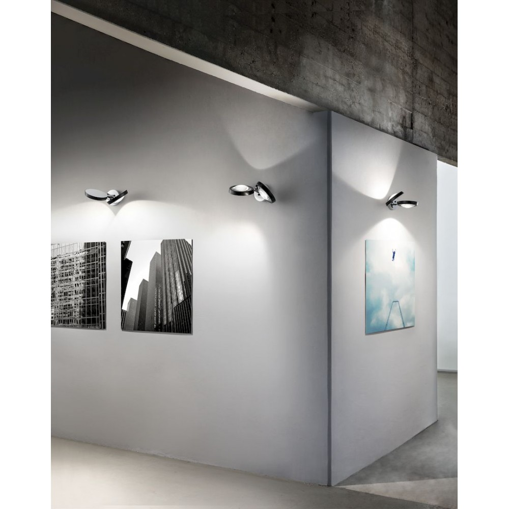 Studio italia design nautilus wandlamp led design for Design italia