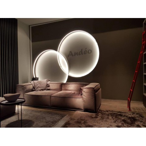 Zava Luce Rings Wall Ceiling